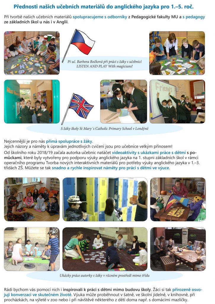 přednosti učebních materiálů do anglického jazyka pro 1. až 5. ročník základních škol od nakladatelství Nová škola